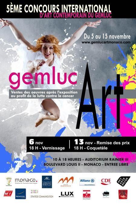 Exposition,  Art,  Peinture,  Monaco, concours,  GemlucArt
