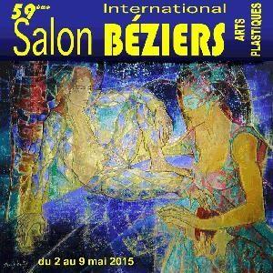 Exposition,  salon,  béziers,  peinture,  abstrait