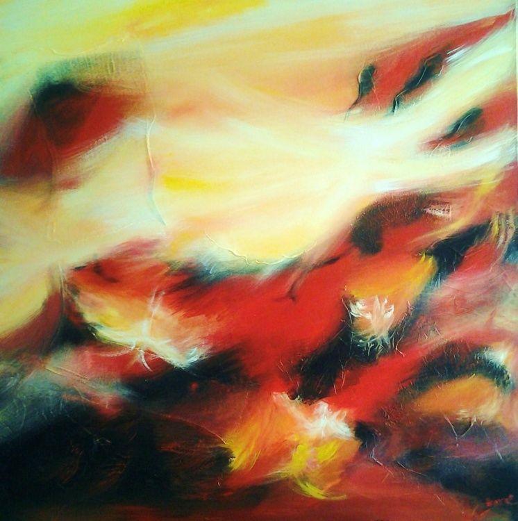 exposition,  abstrait,  golf,  restaurant,  peinture,  anval,  art contemporain