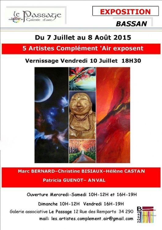 exposition,  peinture,  galerie,  bassan,  galerie le passage,  contemporain,  abstrait,  artiste,  huile,  tableaux