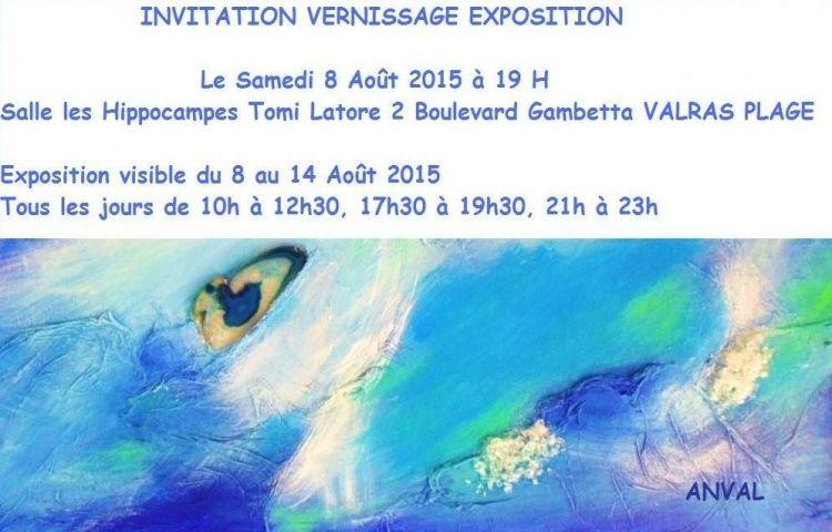exposition,  peinture,  abstrait,  méditerranée,  valras plage,  artiste