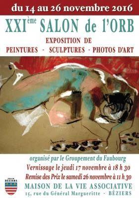 exposition,  peinture,  artiste,  Salon de l'orb,  béziers,