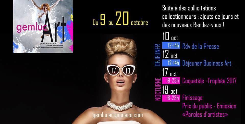 Exposition, Monaco, Gemlucart, Lutte cancer, Concours